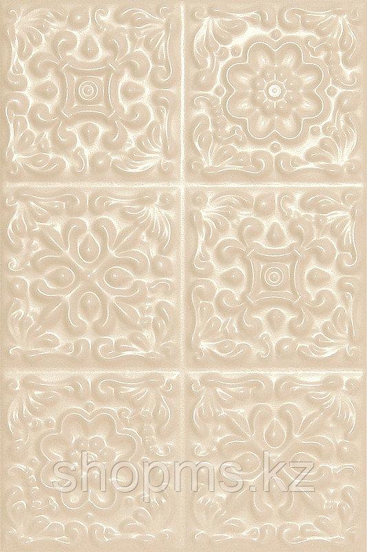 Керамическая плитка Шахтинская Прованс бежевый верх 01 (200*300)*