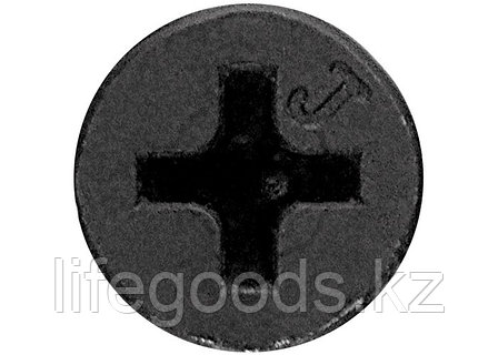 Саморезы по гипсокартону частая резьба, 4,8 x 110, PH №2, фосфатированные 1кг Шурупь 42317, фото 2