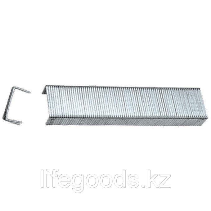 Скобы, 10 мм, для мебельного степлера, закаленные, тип 53, 1000 шт Matrix Master 41210