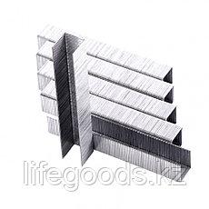 Скобы, 12 мм, для мебельного степлера, тип 53, 1000 шт, Sparta 41614, фото 2