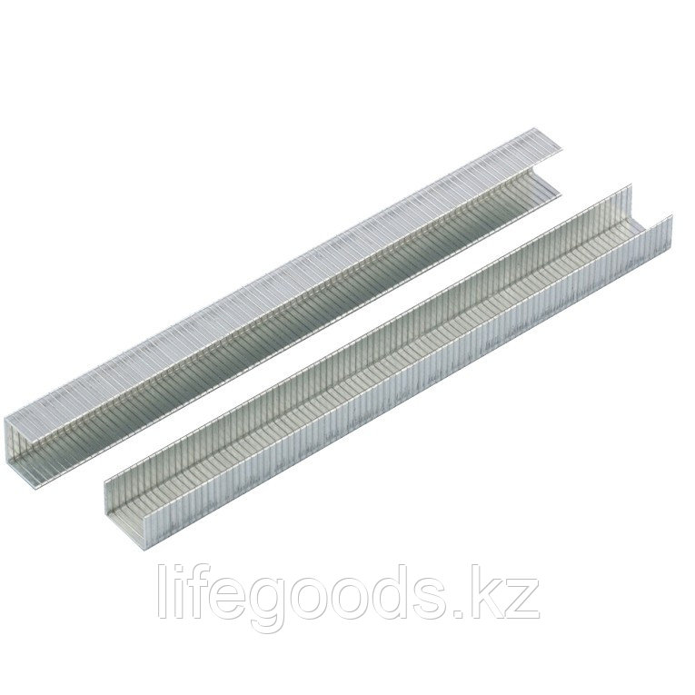 Скобы, 12 мм, для мебельного степлера, усиленные, тип 140,1250 шт Gross 41742