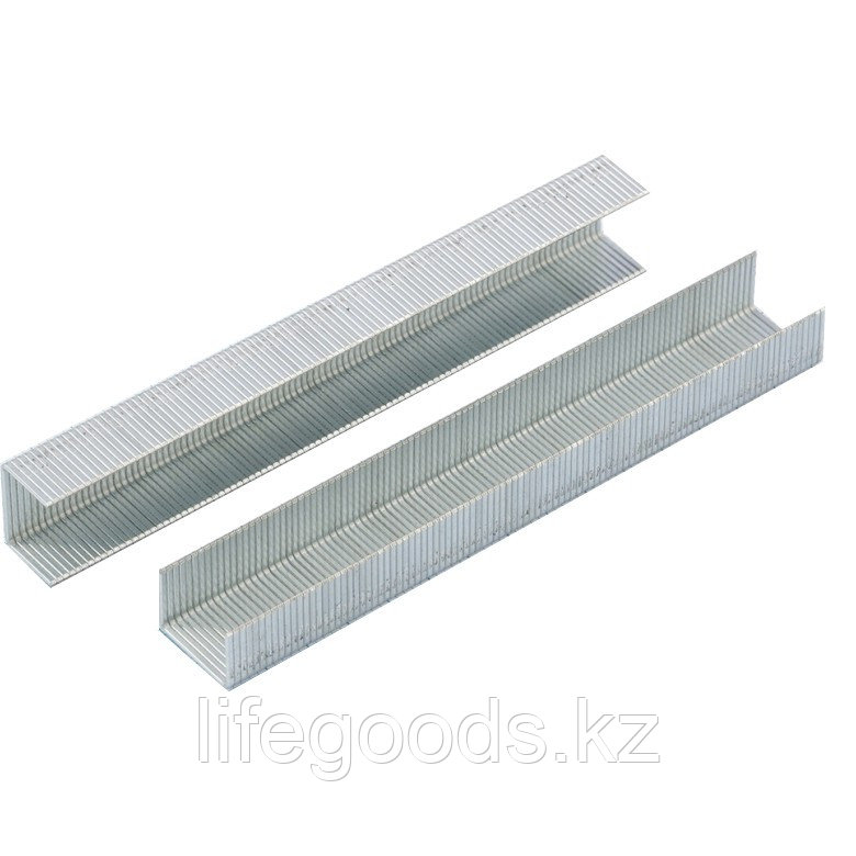 Скобы, 14 мм, для мебельного степлера, усиленные, тип 53, 1000 шт Gross 41714