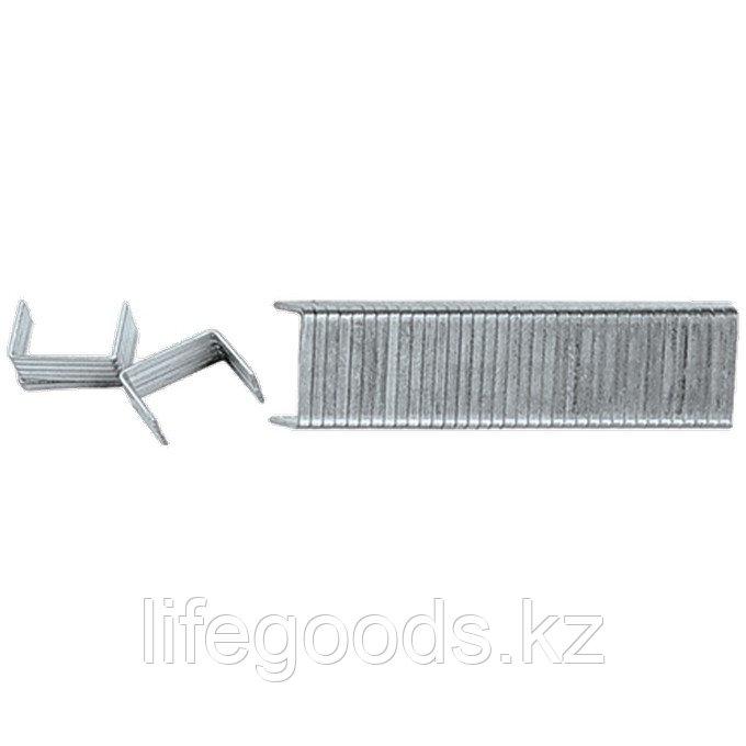 Скобы, 6 мм, для мебельного степлера, закаленные, тип 140,1000 шт Matrix Master 41306