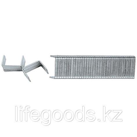 Скобы, 6 мм, для мебельного степлера, закаленные, тип 140,1000 шт Matrix Master 41306, фото 2