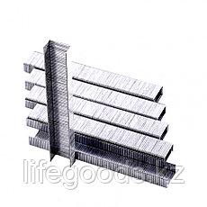 Скобы, 6 мм, для мебельного степлера, тип 53, 1000 шт, Sparta 41611, фото 2