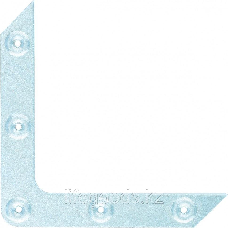 Уголок оконный, 1,2 мм, 100 х 100 мм, цинк Россия Сибртех 46515