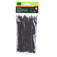 Хомуты, 150 x 2,5 мм, пластиковые, черные, 100 шт Сибртех