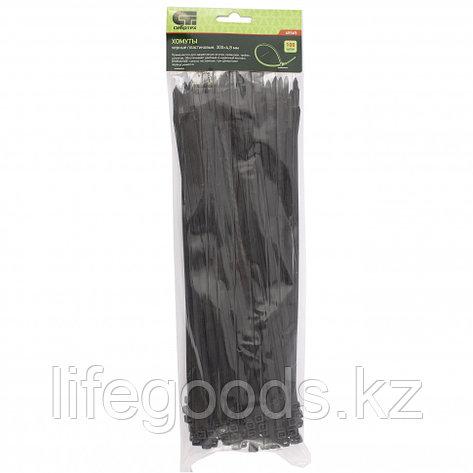 Хомуты, 300 x 4,8 мм, пластиковые, черные, 100 шт Сибртех 45565, фото 2