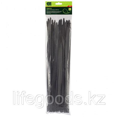 Хомуты, 400 х 8 мм, пластиковые, черные, 50 шт Сибртех, фото 2