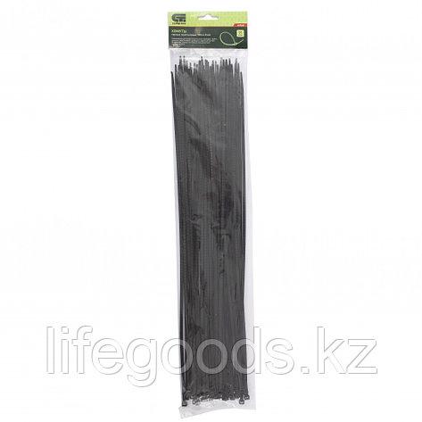 Хомуты, 500 x 4,8 мм, пластиковые, черные, 50 шт Сибртех 45568, фото 2