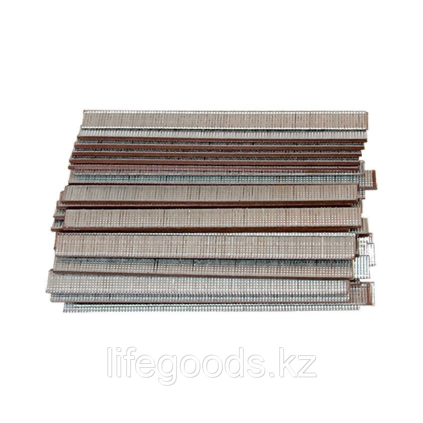 Гвозди для пневматического нейлера, Длинa 15 мм, Ширинa 1,25 мм, Толщинa 1 мм, 5000 шт Matrix 57604