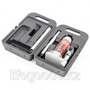 Домкрат гидравлический бутылочный, 2 т, Высотa подъема 181-345 мм, в пластиковый кейсе Matrix Master, фото 2
