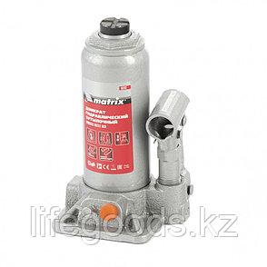 Домкрат гидравлический бутылочный, 3 т, h подъема 178-343 мм Matrix, фото 2
