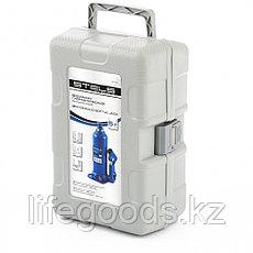 Домкрат гидравлический бутылочный, 5 т, h подъема 207-404 мм, в пластиковом кейсе Stels 51175, фото 3