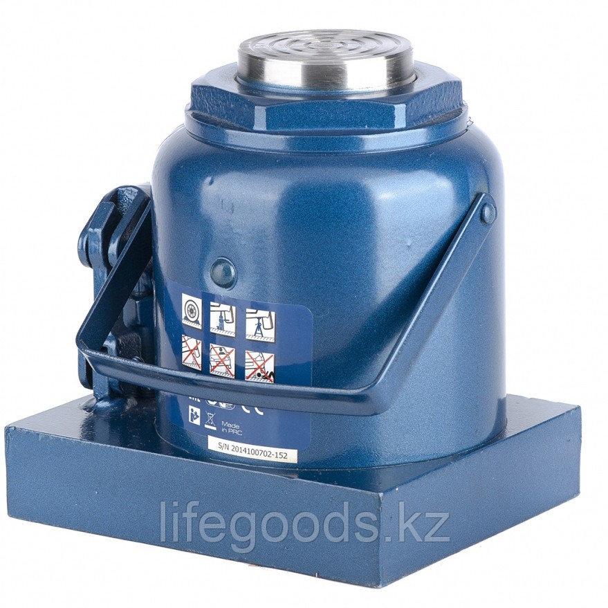 Домкрат гидравлический бутылочный, 50 т, H подъема 236-356 мм Stels 51113