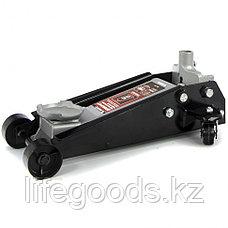 Домкрат гидравлический подкатной профессиональный, быстрый подъем, 3 т, 130-465 мм Quick Matrix 51047, фото 2
