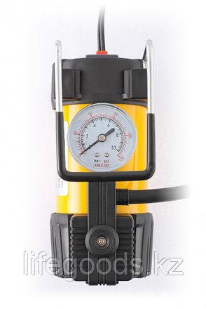Компрессор автомобильный AC-37, 12 В, 7 атм, 37 л/мин, автомобильный предохранитель Denzel, фото 2