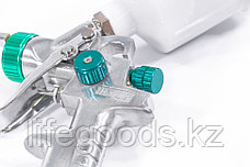 Краскораспылитель AG 810 HVLP, гравитационный, сопло 0,8 мм и 1 мм Stels 57361, фото 2