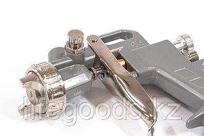 Краскораспылитель пневматический с верхним бачком V 1, 0 л, сопло D 1.2, 1.5 и 1.8 мм Matrix 57315, фото 2