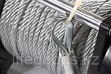 Лебедка автомобильная электрическая LB-2000, 2,2 т, 3,2 кВт, 12 В Denzel 52021, фото 3