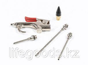 Набор продувочный пистолет, пневмат. в комплекте с насадками, 4 шт Matrix 57338, фото 2