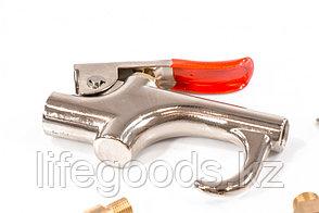 Набор продувочный пистолет, пневмат. в комплекте с насадками, 6 шт Matrix, фото 2