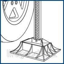 Опора для реечного домкрата на грунте, Off-RoaD Base Stels 50539, фото 2
