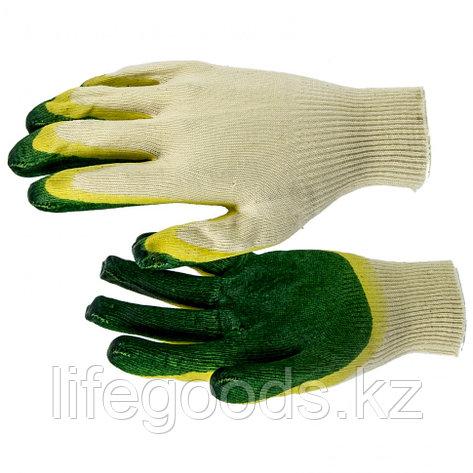 Перчатки хб с двойным латексным обливом Россия 67851, фото 2