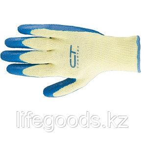 Перчатки хлопчатобумажные, латексное рельефное покрытие, XL Сибртех 67753, фото 2