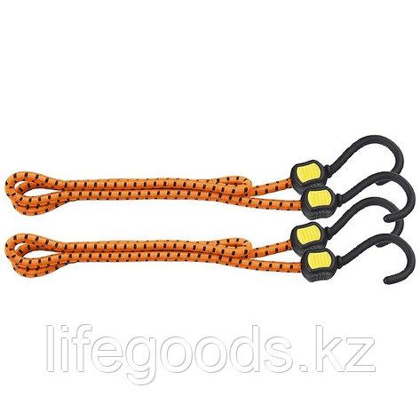 Резинки багажные, обрезиненные крюки, 2 шт, 1000 мм Stels 54363, фото 2