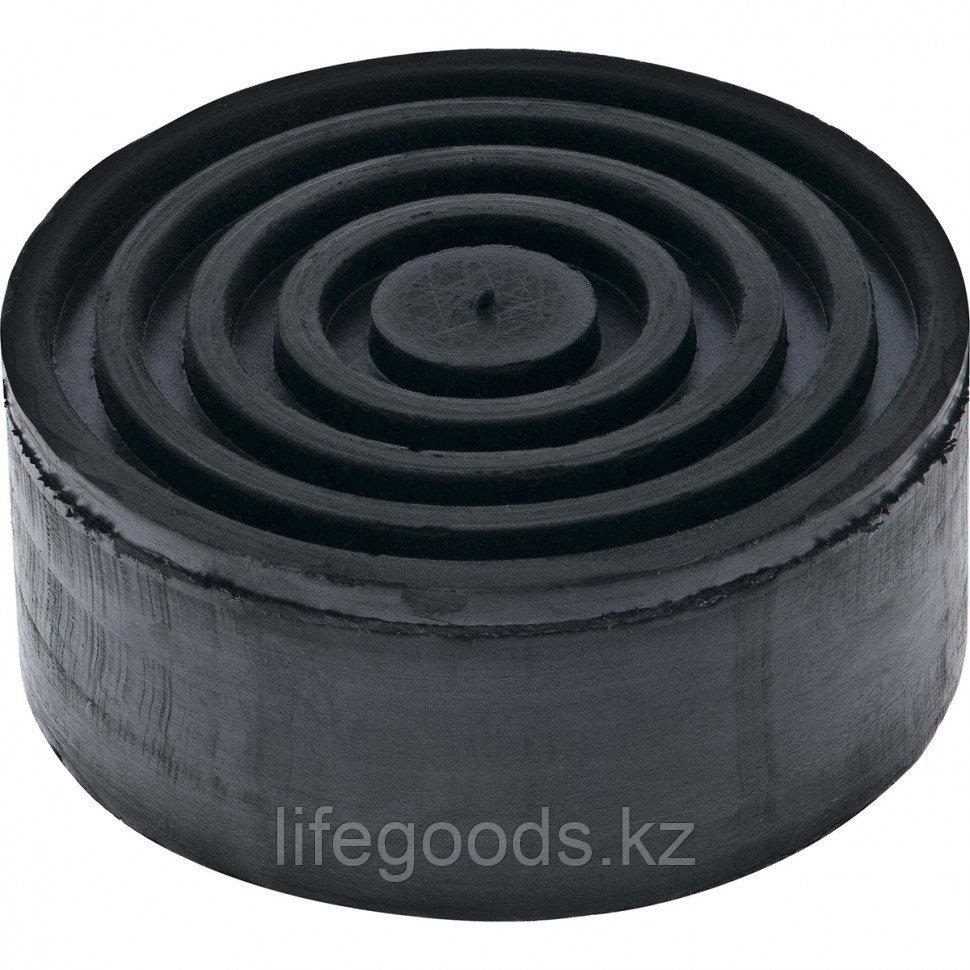 Резиновая опора для подкатного домкрата D 105 мм H 45 мм Matrix Россия 50902