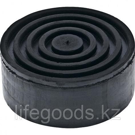 Резиновая опора для подкатного домкрата D 105 мм H 45 мм Matrix Россия 50902, фото 2