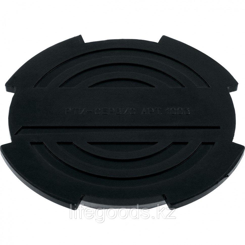 Резиновая опора для подкатного домкрата D 130 мм Matrix Россия 50904