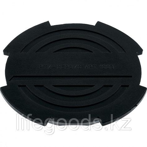 Резиновая опора для подкатного домкрата D 130 мм Matrix Россия 50904, фото 2