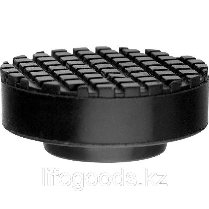 Резиновая опора для подкатного домкрата D 65 мм Matrix Россия 50905