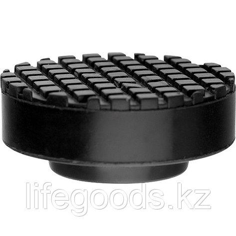 Резиновая опора для подкатного домкрата D 65 мм Matrix Россия 50905, фото 2