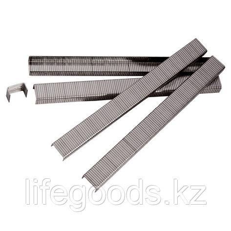 Скобы для пневматического степлера, 6 мм, Ширинa 1,2 мм, Толщинa 0,6 мм, Ширинa скобы 11,2 мм, 5000 шт Matrix, фото 2