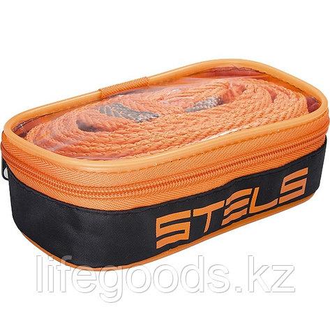 Трос Буксировочный 5 т, 2 крюка, сумка на молнии Россия Stels 54381, фото 2