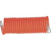 Шланг спиральный воздушный, 10 м, с быстросъемными соединениями Matrix 57004