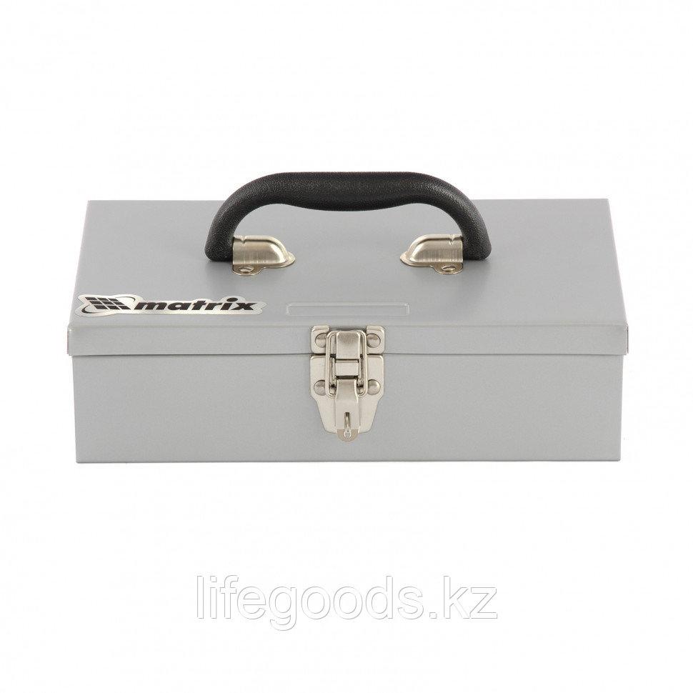 Ящик для инструмента, 284 х 160 х 78 мм, металлический Matrix 906055