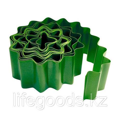 Бордюр садовый 20 x 900 см зелёный Россия Palisad 64482, фото 2