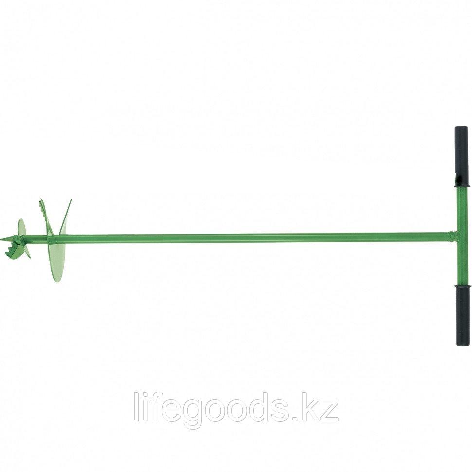 Бур садовый шнековый D 200 мм Россия Сибртех 64503
