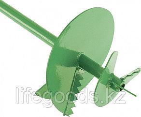 Бур садовый шнековый D 200 мм Россия Сибртех 64503, фото 2