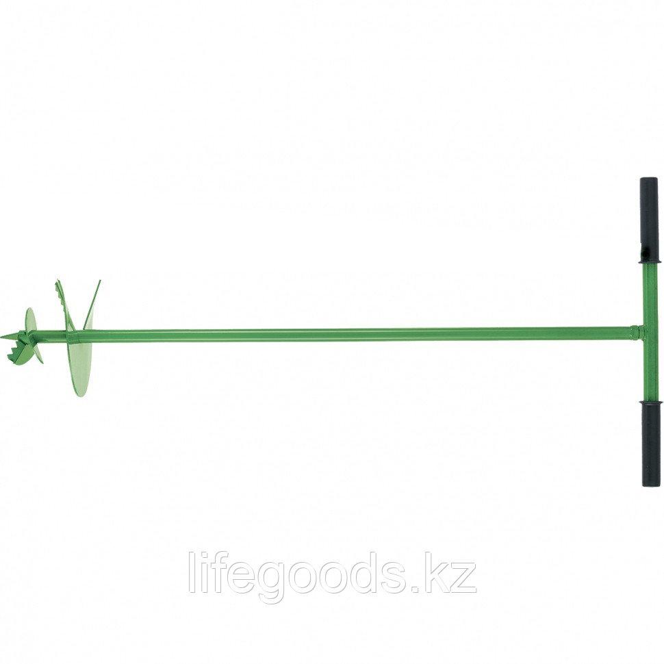 Бур садовый шнековый D 400 мм Россия Сибртех 64507