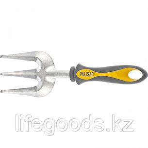 Вилка посадочная трехзубая, двухкомпонентная рукоятка Luxe Palisad 62011, фото 2