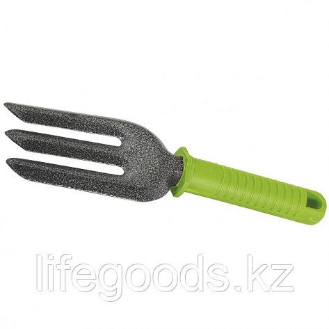 Вилка посадочная трехзубая, защитное покрытие, пластиковая рукоятка Palisad 62387, фото 2
