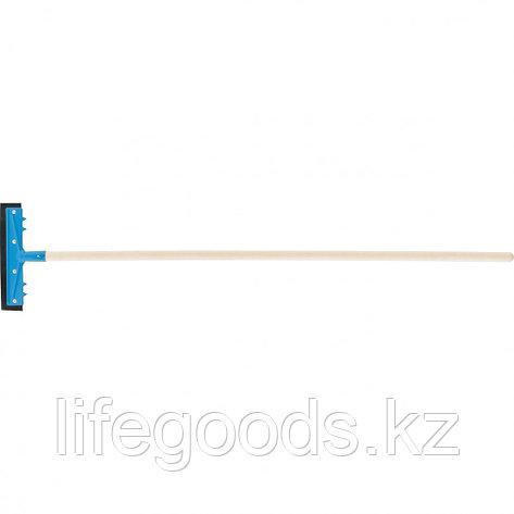 Водосгон 260 мм для пола, деревянный черенок Россия. Сибртеx 61605, фото 2