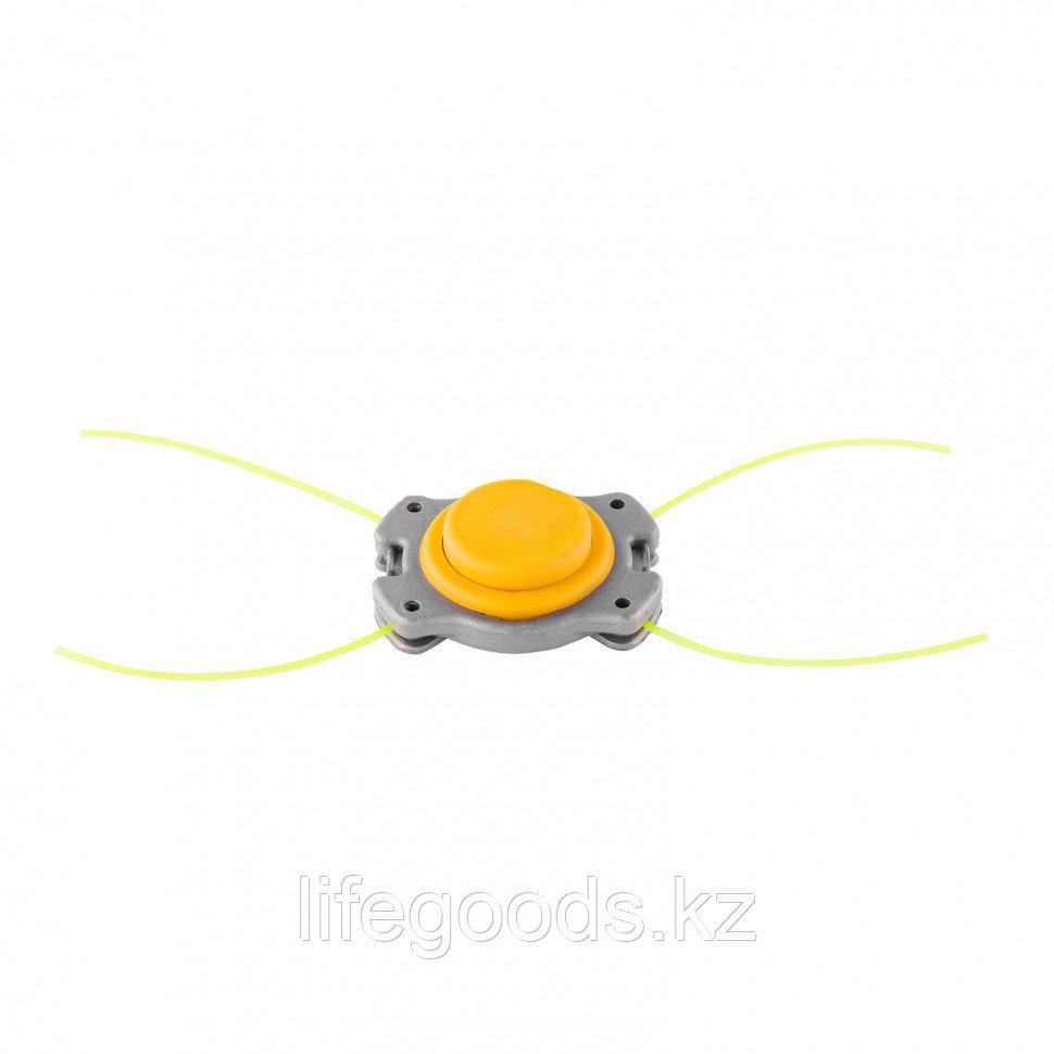 Головка триммерная универсальная алюминий, шайба 8 мм, 10 мм Denzel 96363 - фото 1