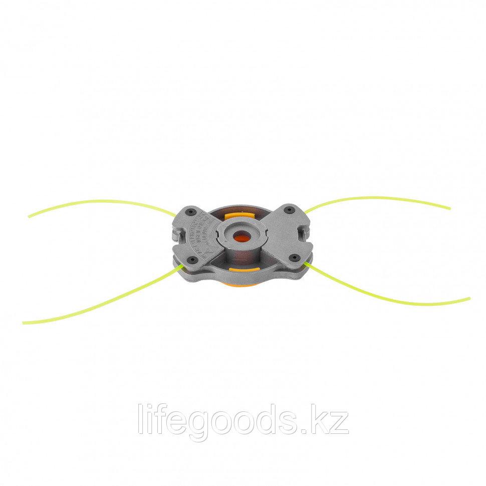 Головка триммерная универсальная алюминий, шайба 8 мм, 10 мм Denzel 96363 - фото 2