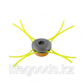 Головка триммерная универсальная, алюминиевый корпус, леска до 4 мм Denzel 96358, фото 2